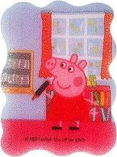 """Parfumuri și produse cosmetice Burete de baie, pentru copii """"Peppa Pig"""", Peppa la școală - Suavipiel Peppa Pig Bath Sponge"""