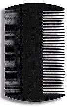 Parfumuri și produse cosmetice Pieptene pentru păr 8,8 cm, negru - Donegal Hair Comb