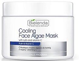 Parfumuri și produse cosmetice Mască alginată pentru față cu rutin și vitamina C - Bielenda Professional Cooling Face Algae Mask