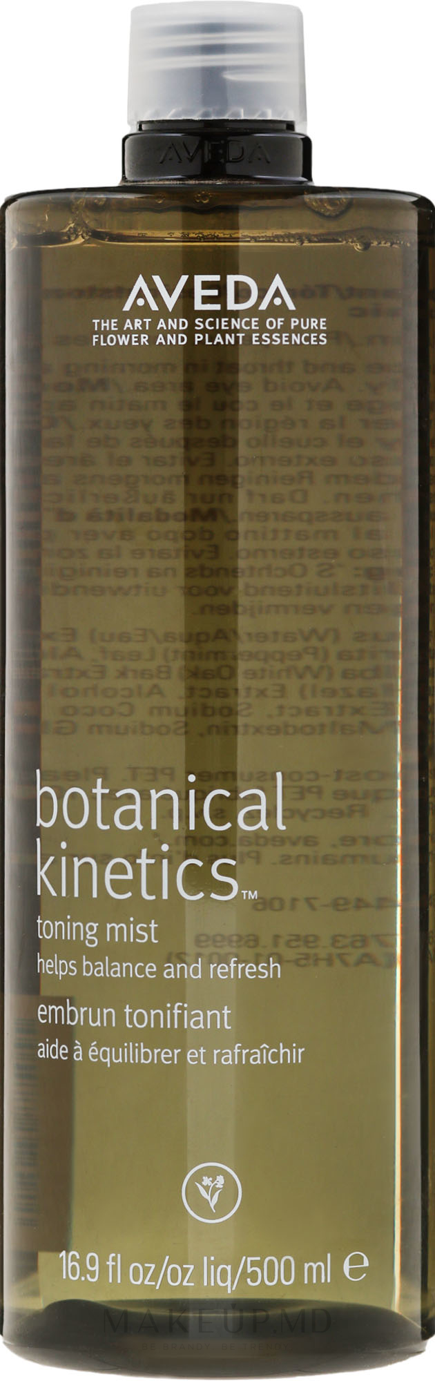 Tonic demachiant - Aveda Botanical Kinetics Toning Mist — Imagine 500 ml