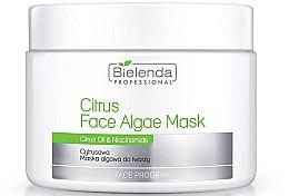 Parfumuri și produse cosmetice Mască pentru față din citrin alginat - Bielenda Professional Citrus Face Algae Mask