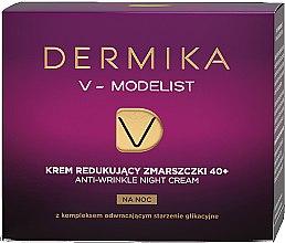 Parfumuri și produse cosmetice Preț redus! Cremă de față 40+ - Dermika V-Modelist *
