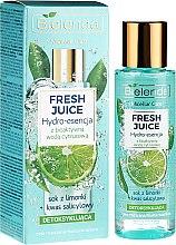 """Parfumuri și produse cosmetice Hidro-esență pentru față """"Lime"""" - Bielenda Fresh Juice Detoxifying Face Hydro Essence Lime"""