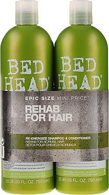 Set - Tigi Bed Head Rehab For Hair Kit (shm/750ml + cond/750ml)