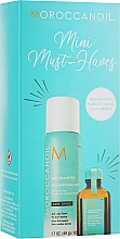 Parfumuri și produse cosmetice Set - Moroccanoil Mini Must Haves (h/oil/15ml + h/shm/65ml)