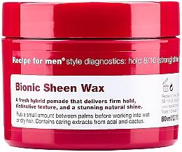 Parfumuri și produse cosmetice Ceară pentru păr - Recipe for Men Bionic Sheen Wax