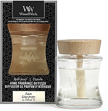 Parfumuri și produse cosmetice Difuzor Aromatic - Woodwick Home Fragrance Diffuser Linen