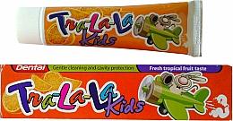 "Духи, Парфюмерия, косметика Зубная паста ""Тропик"" - Dental Tra-La-La Kids Tropical Fruit Toothpaste"