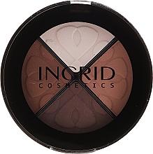 Parfumuri și produse cosmetice Farduri de ochi - Ingrid Cosmetics Smoky Eyes Eye Shadows