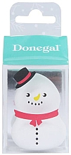 Parfumuri și produse cosmetice Burete de machiaj 4339, alb - Donegal Blending Sponge Snowman
