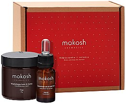 "Parfumuri și produse cosmetice Set ""Smochine"" - Mokosh Cosmetics Fig (f/cr/60ml + eye/ser/12ml)"