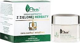 Parfumuri și produse cosmetice Cremă cu extract de ceai verde - Ava Laboratorium Green Tea Cream For Dry And Sensitive Skin