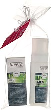 Parfumuri și produse cosmetice Set - Lavera (foam/150ml + ash/balm/50ml)