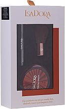Parfumuri și produse cosmetice Set - IsaDora Bronzing Travel Kit (bronzer/3.8g + mascara/3ml + brush/1pcs)