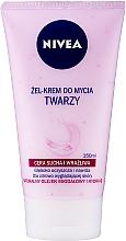 Духи, Парфюмерия, косметика Крем-гель для умывания нежный для сухой и чувствительной кожи - Nivea Visage Cleansing Soft Cream Gel