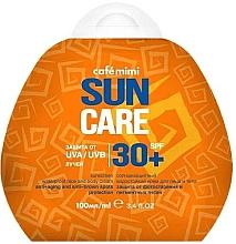 Parfumuri și produse cosmetice Cremă impermeabilă de protecție solară pentru față și corp SPF30+ - Cafe Mimi Sun Care