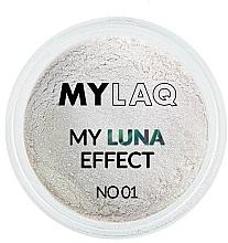 Parfumuri și produse cosmetice Pudră pentru unghii - MylaQ My Luna Effect