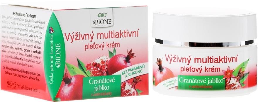 Cremă cu antioxidanți - Bione Cosmetics Pomegranate Nourishing Multi-Active Cream With Antioxidants — Imagine N1