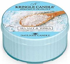 Parfumuri și produse cosmetice Lumânare aromată - Kringle Candle Sea Salt & Tonka