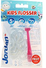 Parfumuri și produse cosmetice Set - Jordan Kids Flosser (floss/1szt+refils/36szt), roz