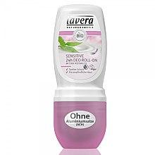 Parfumuri și produse cosmetice Deodorant roll-on - Lavera Sensitive 24h Deo Roll-On