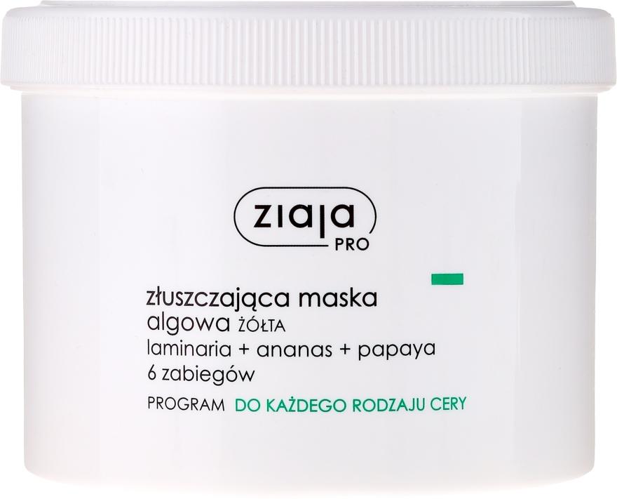 Mască exfoliantă cu alge pentru față - Ziaja Pro Exfoliating Mask — Imagine N1