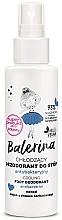 Parfumuri și produse cosmetice Deodorant antibacterian pentru picioare - Floslek Balerina Cooling Foot Deodorant Antibacterial
