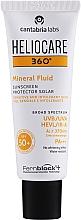 Parfumuri și produse cosmetice Fluid cu protecție solară pentru corp - Cantabria Labs Heliocare 360º Mineral Fluid SPF 50+