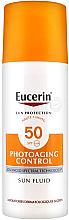 Parfumuri și produse cosmetice Fluid anti-îmbătrânire de protecție solară - Eucerin Sun Protection Photoaging Control Sun Fluid SPF 50