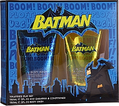 Parfumuri și produse cosmetice Set pentru copii - Corsair Batman(sh/gel/150ml + shmp/150ml)