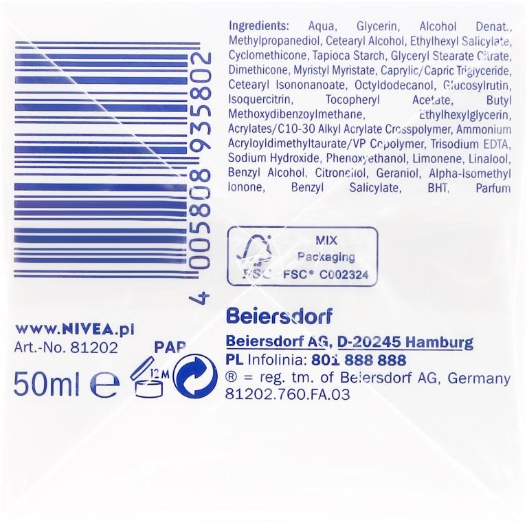 Cremă de zi hidratantă pentru piele normală - Nivea Aqua Effect — Imagine N2