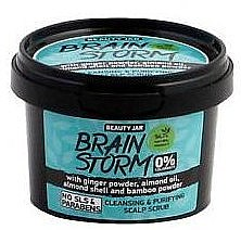 "Scrub pentru scalp ""Brain Storm"" - Beauty Jar Cleansing & Purifying Scalp Scrub"