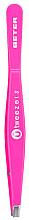 Parfumuri și produse cosmetice Pensetă dreaptă, roz - Beter