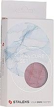 """Parfumuri și produse cosmetice Set manichiură """"Lady"""", MS-02, 5 piese, șarpe roșu - Staleks Manicure Set"""