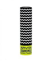 Parfumuri și produse cosmetice Balsam de buze SPF 15, cu ceară de albine și mușețel - Apivita Lip Care with Chamomile SPF 15