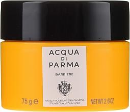 Parfumuri și produse cosmetice Argilă pentru păr, fixare medie - Acqua Di Parma Barbiere The Styling Clay Medium Hold
