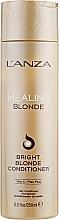 Духи, Парфюмерия, косметика Целебный кондиционер для натуральных и обесцвеченных светлых волос - L'anza Healing Blonde Bright Blonde Conditioner