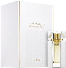 Parfumuri și produse cosmetice Rasasi Nebras Al Ishq Shorouk - Ulei de parfum (mini)