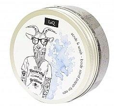 Parfumuri și produse cosmetice Scrub de corp pentru bărbați - LaQ Body Scrub&Wash Body Sand Paper For Men