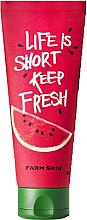 """Parfumuri și produse cosmetice Cremă de față """"Pepene verde"""" - Superfood Fresh Food For Skin Moisturizing Watermelon Aqua Facial Gel Cream"""