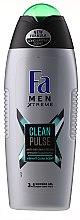 Parfumuri și produse cosmetice Gel de duș - Fa Men Xtreme Clean Pulse Shower Gel 3in1