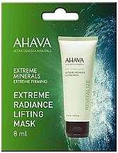 Parfumuri și produse cosmetice Mască-lifting cu efect de strălucire pentru față - Ahava Time To Revitalize Extreme Radiance Lifting Mask (mostră)