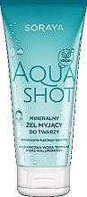 Parfumuri și produse cosmetice Gel de curățare pentru față - Soraya Aquashot