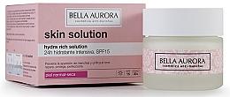 Parfumuri și produse cosmetice Cremă de față - Bella Aurora Crema Hydra Rich Solution 24h