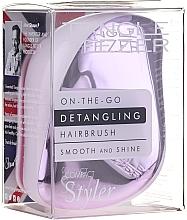 Parfumuri și produse cosmetice Pieptene de păr - Tangle Teezer Compact Styler Lilac Gleam