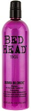 Şampon pentru păr blond - Tigi Bed Head Dumb Blonde — Imagine N2