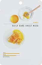 Parfumuri și produse cosmetice Mască facială, cu extract de miere - Eunyu Daily Care Sheet Mask Honey