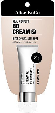 BB cremă pentru față - Alice Koco Real Perfect BB Cream