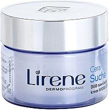 Parfumuri și produse cosmetice Cremă regenerantă pentru ten uscat - Lirene Duo Hydro-Comfort Dry Skin Face Cream