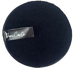 Parfumuri și produse cosmetice Burete pentru curățarea feței, negru - Deni Carte Face Wash Microfiber Black